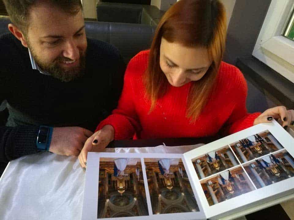fotolibro sposi Simona e Valerio